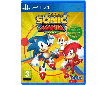 Sonic Mania Plus + Artbook (PS4)