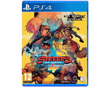 Streets Of Rage 4 (Русская версия)(PS4)