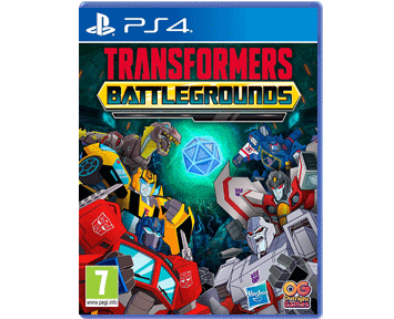 Transformers: Battlegrounds (Русская версия)(PS4)