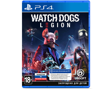 Watch Dogs: Legion (Русская версия)(PS4)