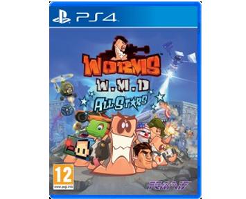Worms W.M.D. ALL Stars (Русская Версия)(PS4)