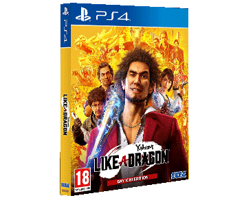 Yakuza: Like a Dragon Day Ichi Steelbook Edition (Русская версия)(PS4)  ПРЕДЗАКАЗ!