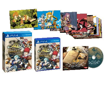 Ys: Memories of Celceta Timeless Adventurer Edition (PS4)