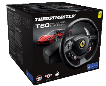 Руль Thrustmaster T80 Ferrari 488 GTB Edition PS4/PC