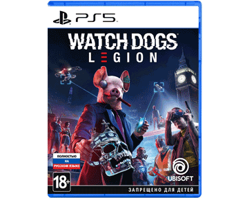 Watch Dogs: Legion (Русская версия)(PS5) ПРЕДЗАКАЗ!