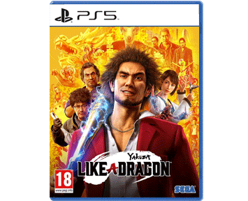 Yakuza: Like a Dragon (Русская версия)(PS5) ПРЕДЗАКАЗ!