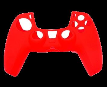 Cиликоновый Чехол для джойстика PS5 Красный