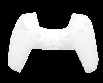 Cиликоновый Чехол для джойстика PS5 Белый