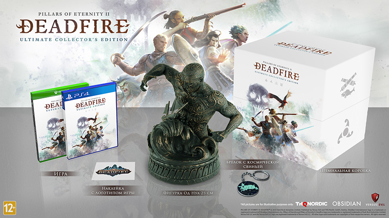 Pillars of Eternity II Deadfire Ultimate Collectors Edition  PS4 дополнительное изображение 1