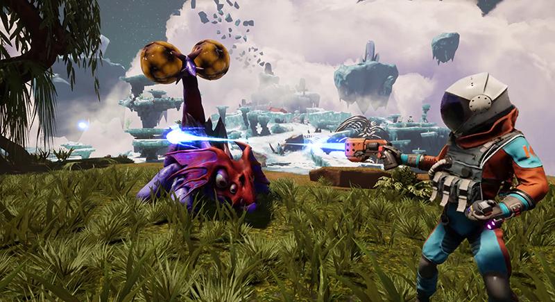 Journey to The Savage Planet  PS4 дополнительное изображение 1
