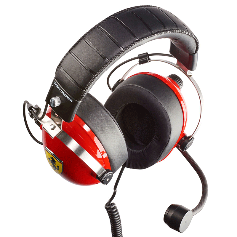 Гарнитура Thrustmaster T.RACING SCUDERIA FERRARI EDITION  PS4, Xbox One, Switch, PC дополнительное изображение 1
