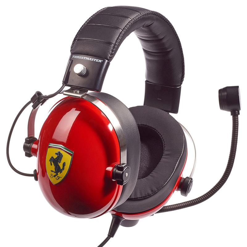 Гарнитура Thrustmaster T.RACING SCUDERIA FERRARI EDITION  PS4, Xbox One, Switch, PC дополнительное изображение 4