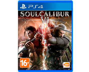 SoulCalibur VI (6) [Русская/Engl.vers.](PS4)(USED)(Б/У)