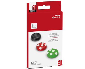 Накладки на стики Speedlink Stix Joy-Con Cap Set