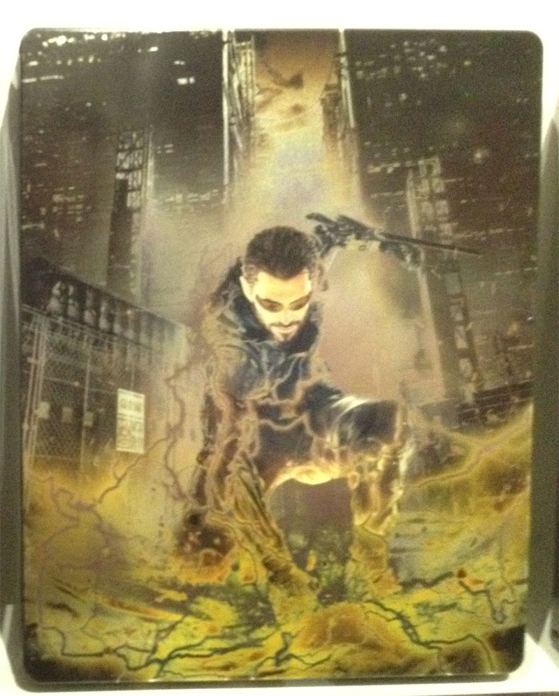 Deus Ex Mankind Divided Steelbook Case БЕЗ ИГРЫ легкие потертости дополнительное изображение 1