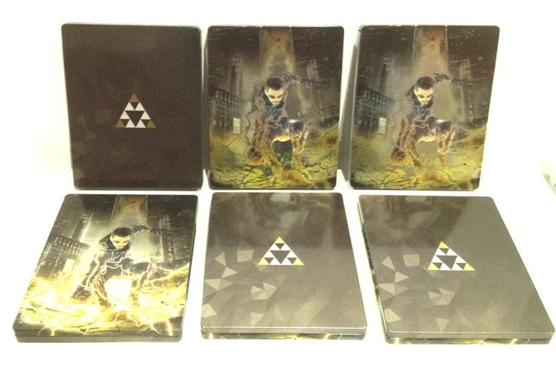 Deus Ex Mankind Divided Steelbook Case БЕЗ ИГРЫ легкие потертости дополнительное изображение 2