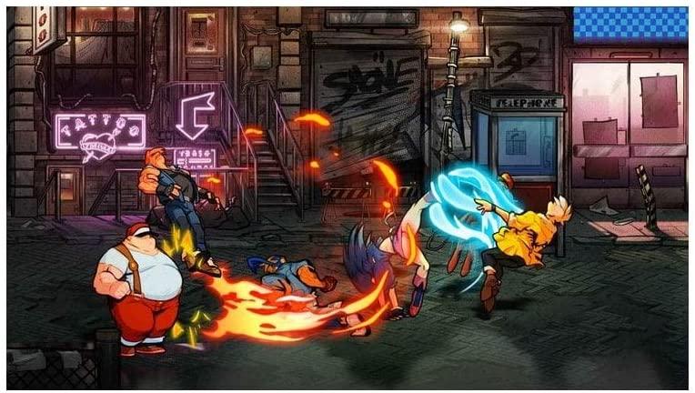 Streets Of Rage 4  PS4 дополнительное изображение 2