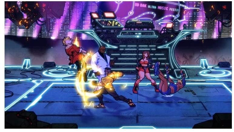 Streets Of Rage 4  PS4 дополнительное изображение 3