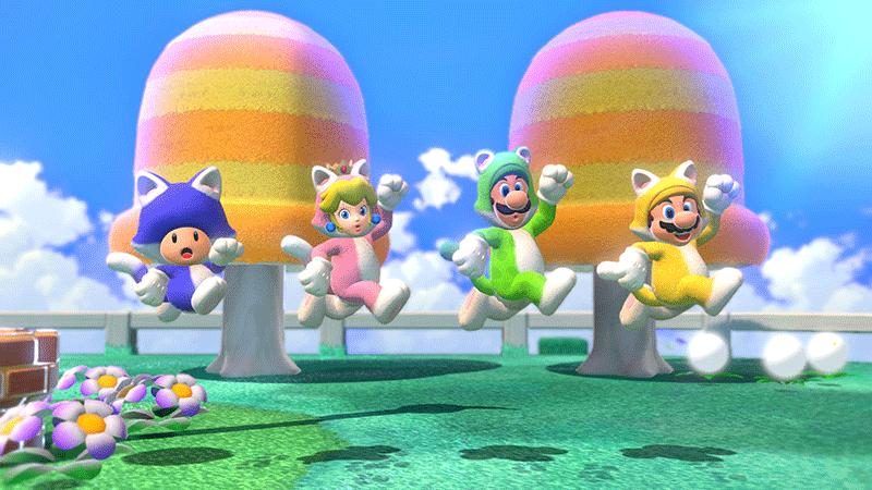 Super Mario 3D World и Bowser Fury  Nintendo Switch  дополнительное изображение 1