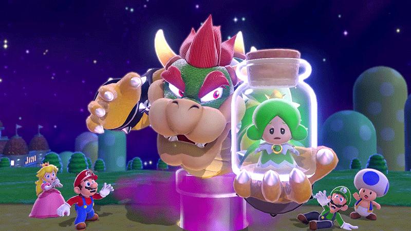 Super Mario 3D World и Bowser Fury  Nintendo Switch  дополнительное изображение 2