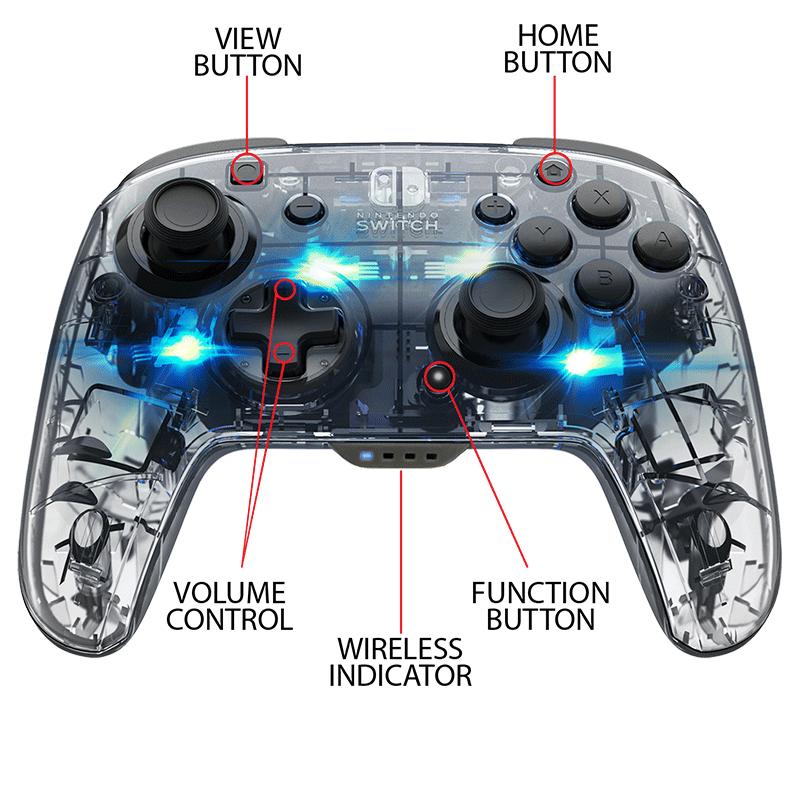 Беспроводной контроллер Afterglow  Nintendo Switch  дополнительное изображение 2