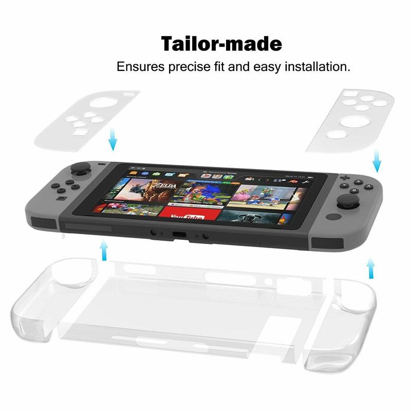 Пластиковый чехол Crystal Protector  Nintendo Switch дополнительное изображение 2