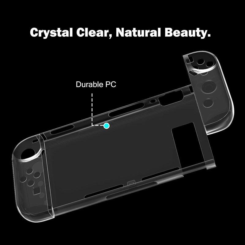 Пластиковый чехол Crystal Protector  Nintendo Switch дополнительное изображение 3