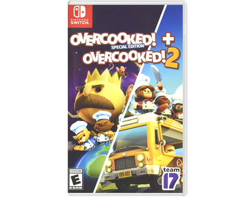 Overcooked! Special Edition + Overcooked! 2 [US](Nintendo Switch)