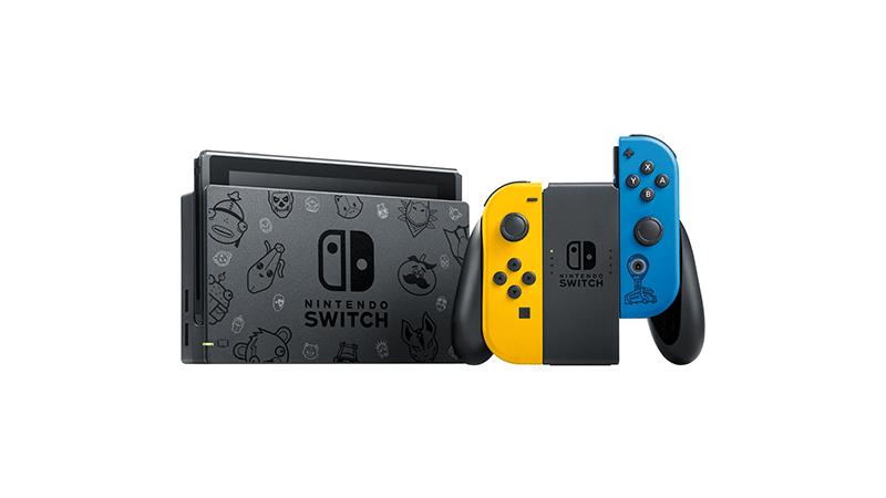 Игровая консоль Nintendo Switch Особое издание Fortnite дополнительное изображение 1