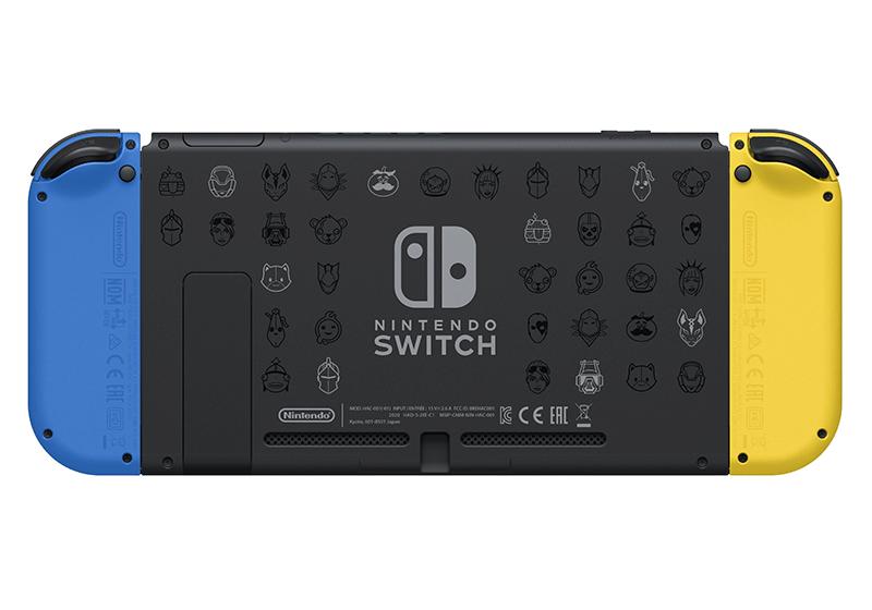 Игровая консоль Nintendo Switch Особое издание Fortnite дополнительное изображение 3