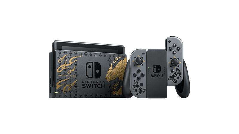 Игровая консоль Nintendo Switch Особое издание Monster Hunter Rise дополнительное изображение 1