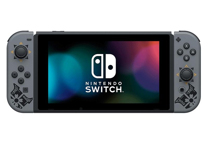 Игровая консоль Nintendo Switch Особое издание Monster Hunter Rise дополнительное изображение 3