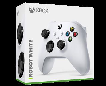 Беспроводной геймпад Xbox Robot White ПРЕДЗАКАЗ!