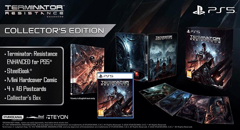 Terminator Resistance Collectors Edition  PS5 дополнительное изображение 1