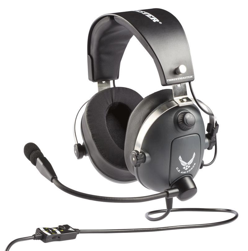 Гарнитура Thrustmaster T.Flight U.S. Air Force Edition  PS4, Xbox One, Switch, PC дополнительное изображение 1
