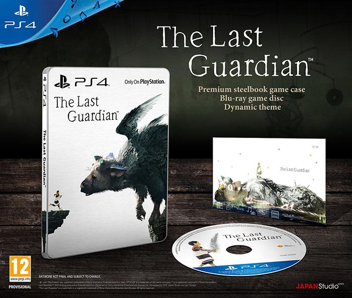 Last Guardian Special Edition Последний хранитель PS4 дополнительное изображение 1