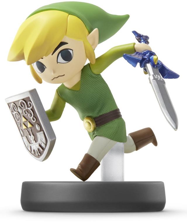 amiibo Toon Link Super Smash Bros Коллекция дополнительное изображение 1