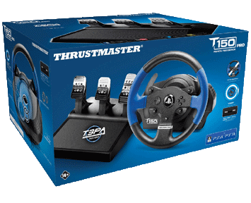 Руль Thrustmaster T150 RS EU PRO Version PS5/PS4/PS3/PC
