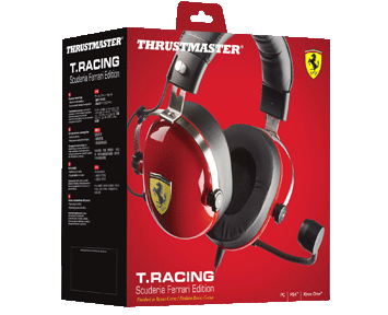 Гарнитура Thrustmaster T.RACING SCUDERIA FERRARI EDITION (PS4, Xbox One, Switch, PC)
