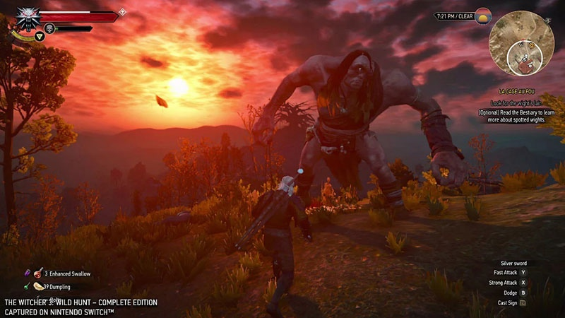 Witcher 3 Wild Hunt Ведьмак 3 Дикая охота Полное Издание  Nintendo Switch дополнительное изображение 3