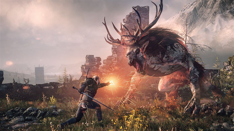 Witcher 3 Game of the Year Edition  PS4 дополнительное изображение 3
