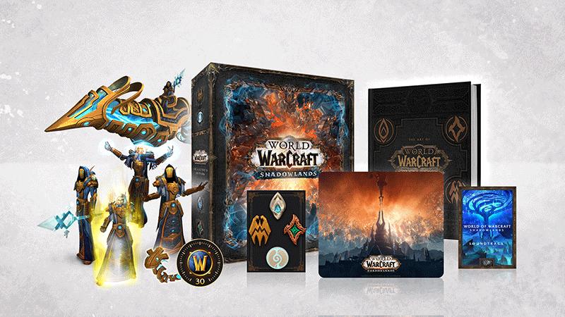 World of Warcraft Shadowlands Collectors Edition код загрузки русская версия PC дополнительное изображение 1