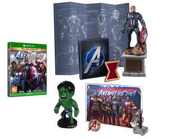 Marvels Мстители Earths Mightiest Edition (Русская версия)(Xbox One/Series X)