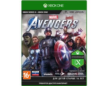 Marvels Мстители [Avengers](Русская версия)(Xbox One/Series X)