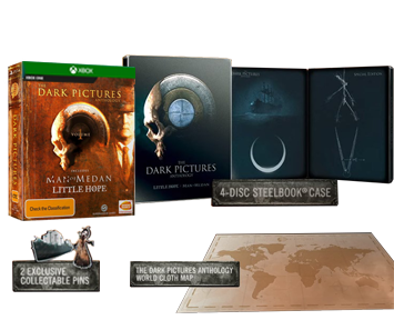 Dark Pictures Anthology Vol 1 Steelbook Edition Bundle (Русская версия)(Xbox One) ПРЕДЗАКАЗ!