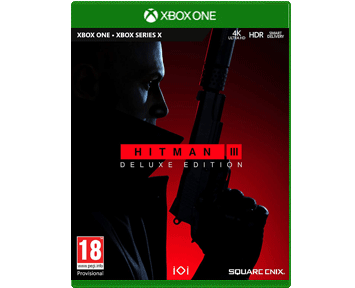 Hitman 3 Deluxe Edition (Xbox One/Series X) ПРЕДЗАКАЗ!