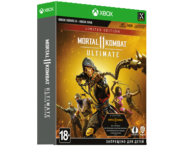 Mortal Kombat 11 Ultimate Limited Edition (Русская версия)(Xbox One/Series X)