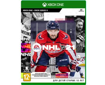 NHL 21 (Русская версия)(Xbox One/Series X)