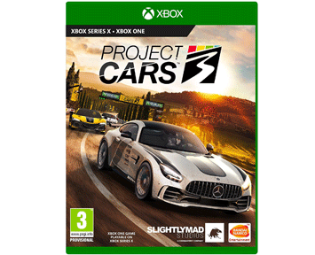 Project Cars 3 (Русская версия)(Xbox One/Series X)