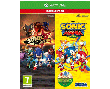 Sonic Forces & Sonic Mania Plus Double Pack (Русская версия)(Xbox One/Series X)